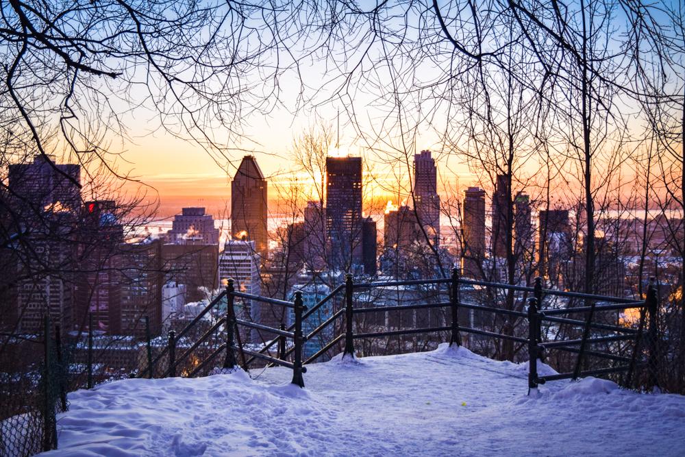 Photographier à Montréal l'hiver