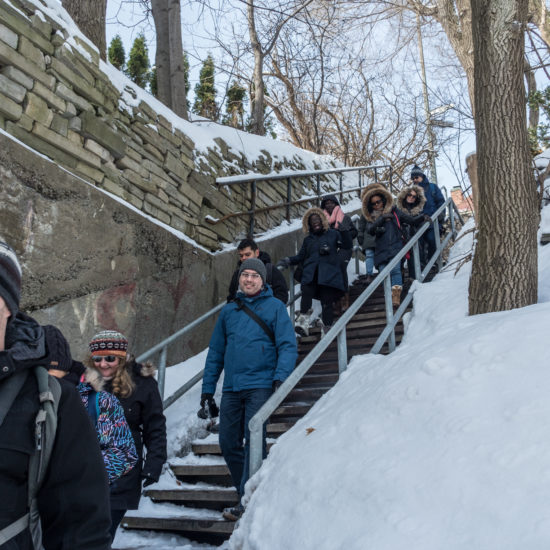 Escalier de l'Avenue Aberdeen