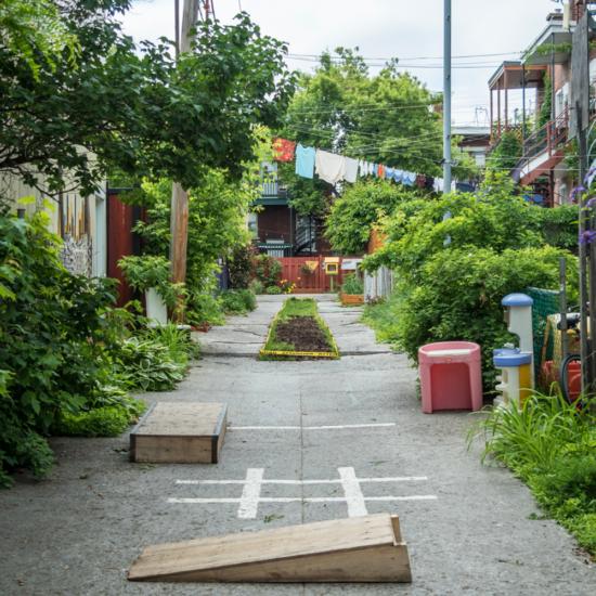 Les ruelles vertes du Vieux Rosemont